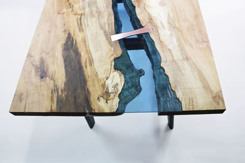 Tables by Michael Madley Design seen at Private Residence, Paradise Valley - Copper State Table