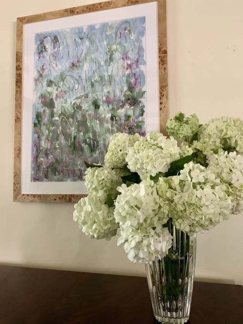Paintings by Erin Fuge Fine Art seen at Private Residence, Dallas - Orchids