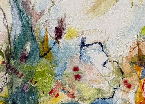 Paintings by Irina Alimanestianu - painter at Private Residence, New York - What is Felt is Real