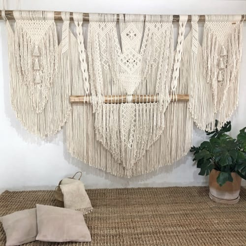 LIDXI Decoracion (by Nadxieelli Suastegui G.) - Macrame Wall Hanging and Art