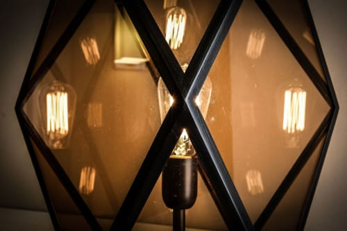 Lamps by Contardi Lighting seen at Private Residence, London - Muse Lantern