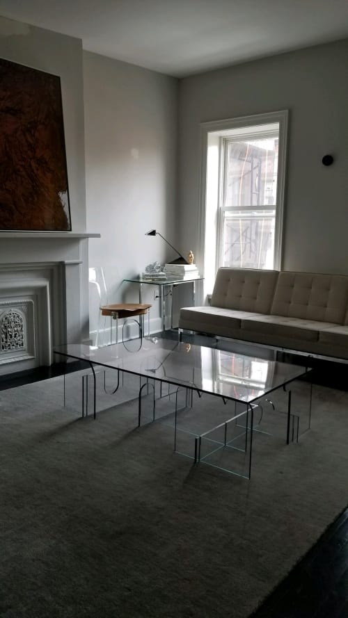 Interior Design by PHAEDO seen at Private Residence, New York - Lexan Table