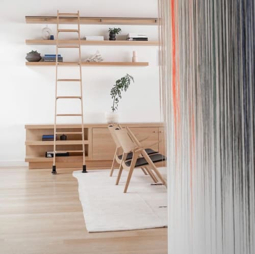 Macrame Wall Hanging by Nike Schroeder Studio seen at Private Residence, Los Angeles - Commissioned Fiber Art