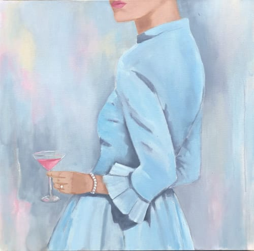 Paintings by Kristin Cooney seen at Private Residence - Maura's Martini