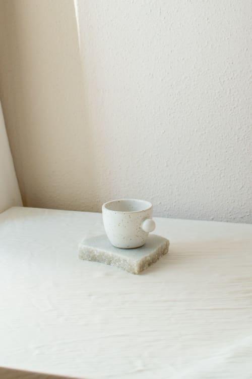 Ceramic Plates by Oema Ceramics seen at Private Residence, Barcelona - Stracciatella Mini Cup