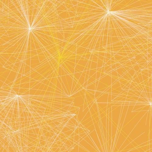Wallpaper by Jill Malek Wallpaper - Voyageur | Citron