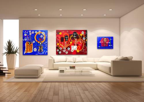 Paintings by Soren Grau seen at Los Angeles, Los Angeles - -