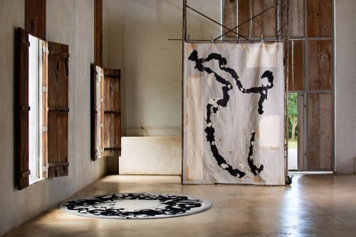 Rugs by Odabashian (official) seen at Plantel Matilde - Javier Marín - via Terreno Baldío