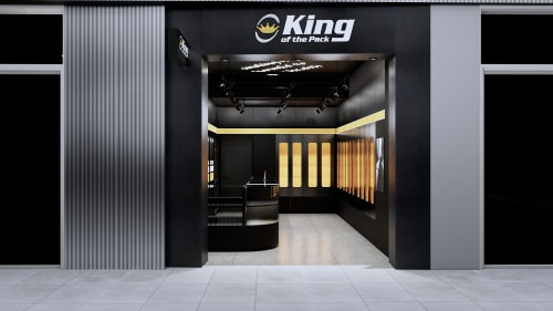 Interior Design by Studio Hiyaku seen at Rouse Hill Town Centre, Rouse Hill - King of the Pack