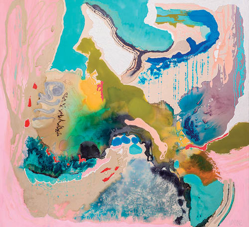 Paintings by Wyanne Thompson at dk Gallery, Marietta - Journey Home