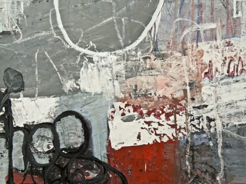 Paintings by Beverly Kedzior Fine Art seen at Private Residence, Indian Creek - Quick And Tricky