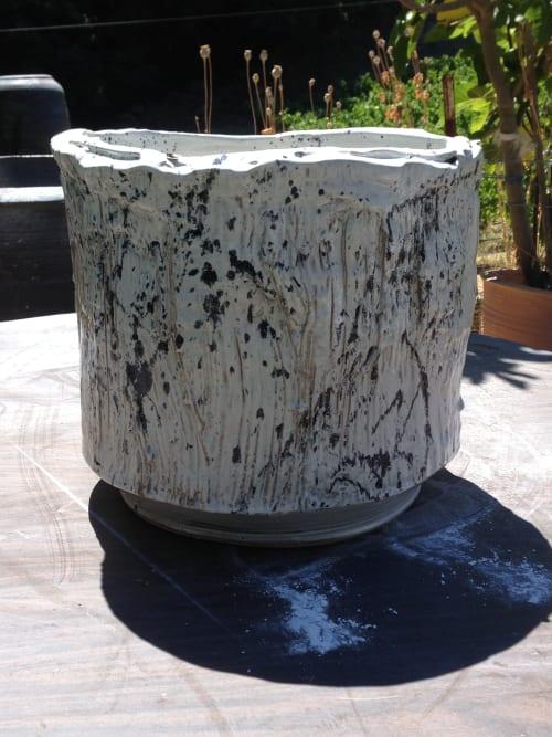 Vases & Vessels by Lynn Mahon seen at Jiun Ho Inc., Folsom Street, San Francisco, CA, San Francisco - Squat Sculptural Planter