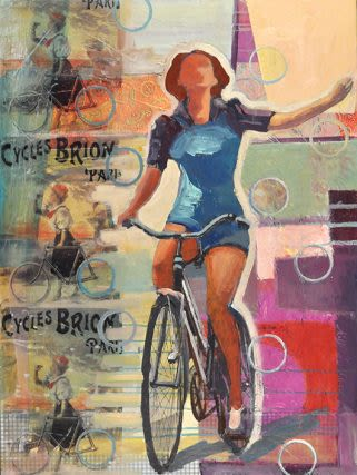 "Paintings by Marjolyn van der Hart - ""Still I Rise"""