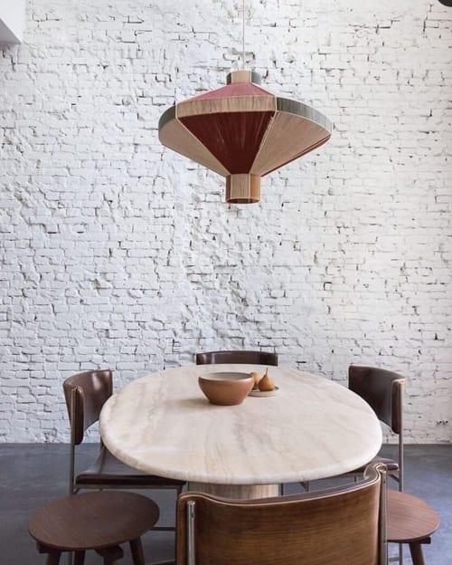 Lighting Design by Werajane Design seen at Private Residence, Rotterdam - custom made lamp