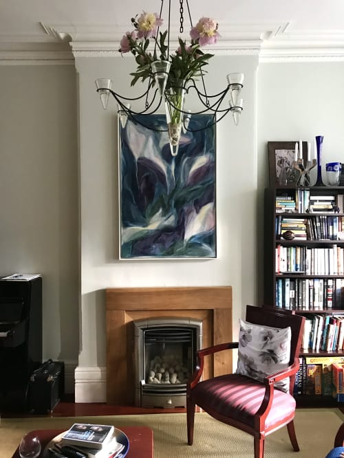 Paintings by Cristina Getson seen at Private Residence - Once Upon a Time in Brescia painting