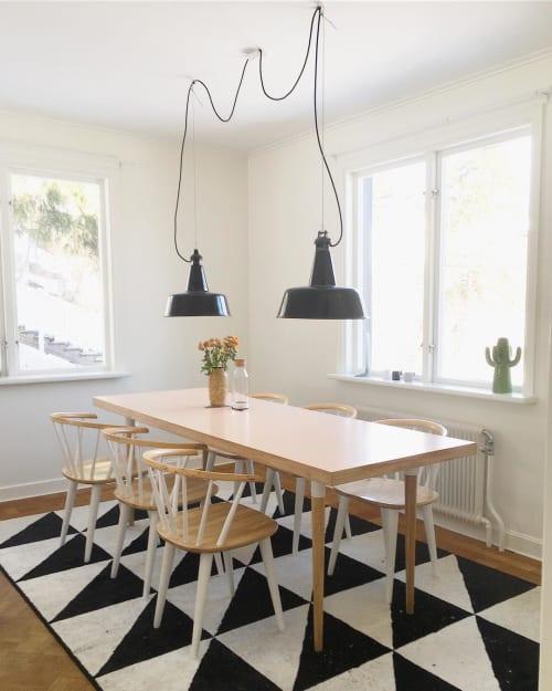 Pendants by Blom & Blom seen at Private Residence, Stockholm - King Penguins