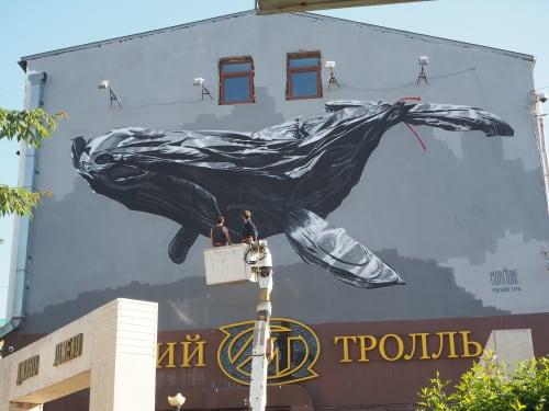 Murmure Street - Street Murals and Public Art