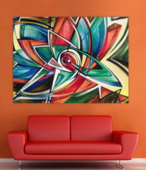 Paintings by Wilani seen at Private Residence, Melbourne - Belonging