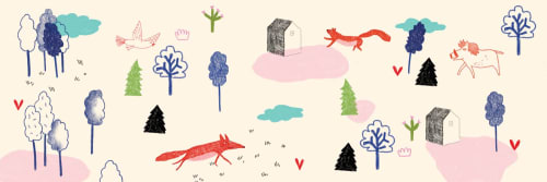 Super Illustrator - Art Curation and Beds & Accessories