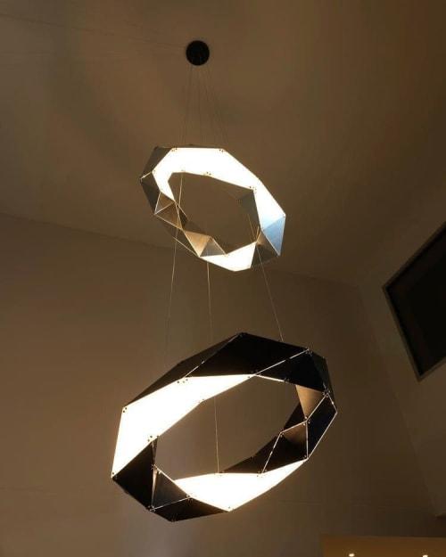 Pendants by ILANEL DESIGN STUDIO seen at Private Residence, Caulfield - Double SUPERVOVA
