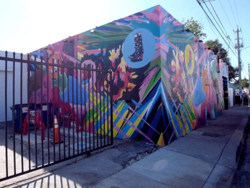 Street Murals by assume vivid astro focus at Wynwood Walls, Miami - Astronomer Verifies Acid Flashbacks