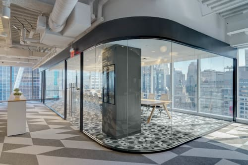 Interior Design by Aces of Space seen at Synechron Inc, New York - Synechron New York