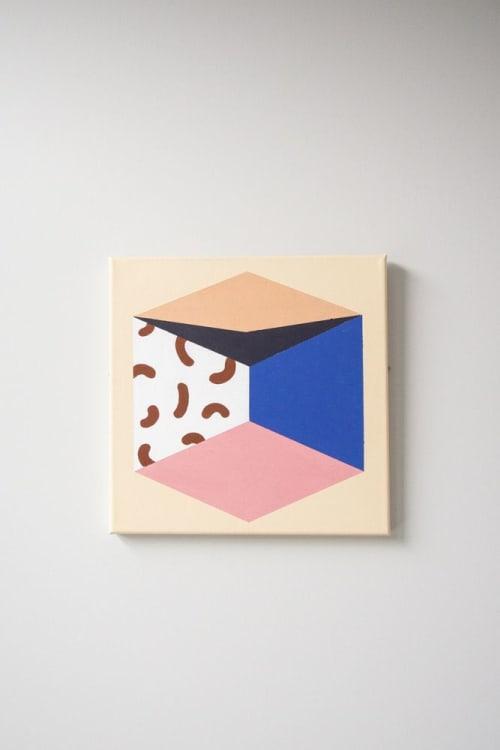 RETRO ROVE CANVAS ART   Paintings by LEMONNI