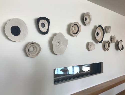 Sculptures by Loren Yagoda seen at Hotel Adeline, Scottsdale - Life's Layers Bowls