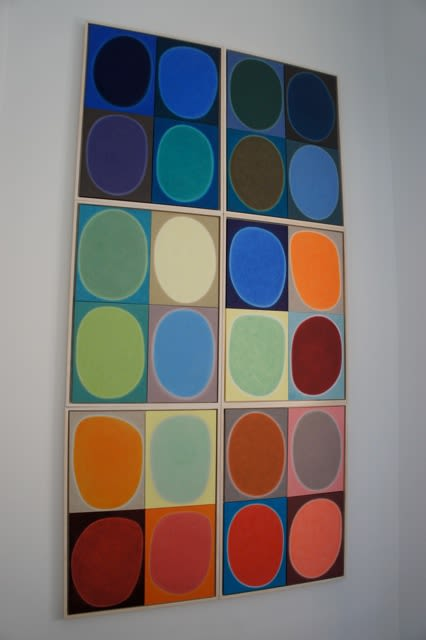 Paintings by Pauline Galiana seen at New York, New York - Silent, Installation