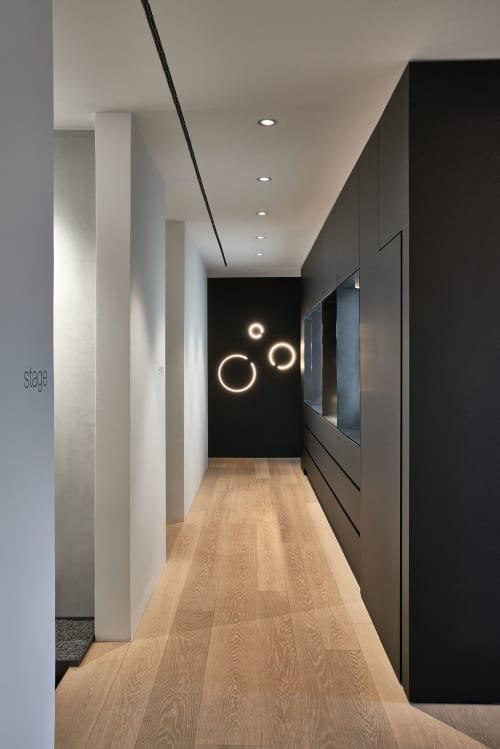 Interior Design by 1zu33 seen at Steinstraße, München - Showroom Munich, Occhio