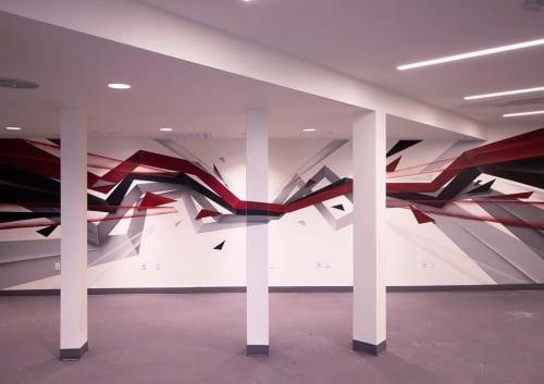 Murals by Steven Anderson Art seen at Oakland, Oakland - Indoor Mural