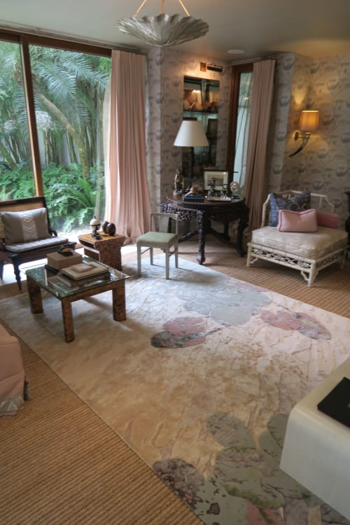 Rugs by INIGO ELIZALDE RUGS seen at Private Residence, Manila - LILY PEACE RUG