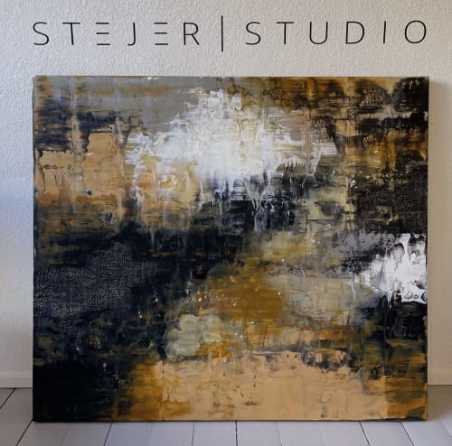 """Paintings by Jodie Stejer, S T E J E R 
