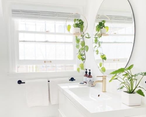 Vases & Vessels by Braid & Wood Design Studio seen at Private Residence, Long Beach - BRAID & WOOD Plant Hanger (Larger)