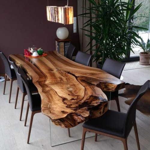 Tables by Cocolea Furniture seen at Private Residence, Melbourne - Custom Dining Table
