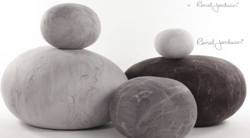 Benches & Ottomans and Sculptures by Ronel Jordaan