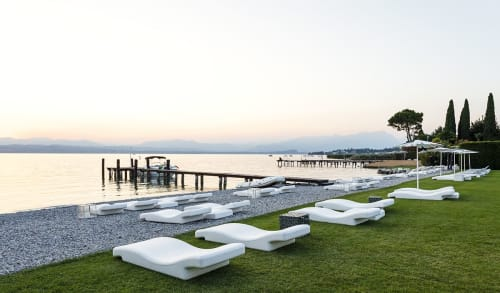 Furniture by GANDIABLASCO seen at Hiki Beach, Sirmione - Hiki Beach Outdoor Furniture