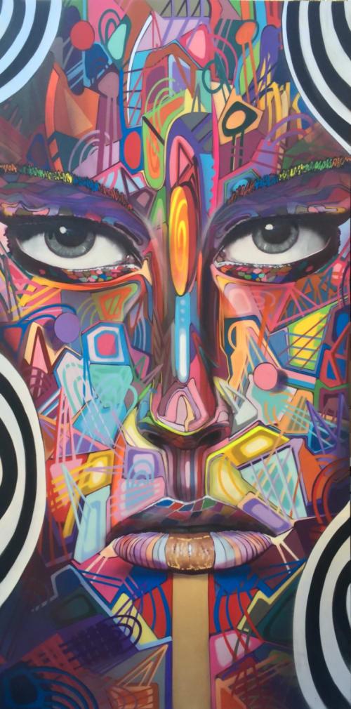 Paintings by Chor Boogie seen at AVA 55 Ninth, San Francisco - Vision Part 7