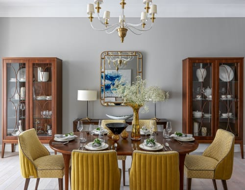 Interior Design by Angelina Askeri Interiors seen at Private Residence, Moscow - Snegiri