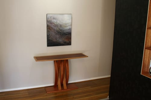 "Tables by Darren Oates Fine Furniture seen at Private Residence, Grose Vale, Grose Vale - ""Talon"" Hall Table"