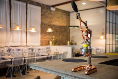 Interior Design by Melanie Gowen Design seen at Lemon Press, Nantucket - Lemon Press - Nantucket Cafe