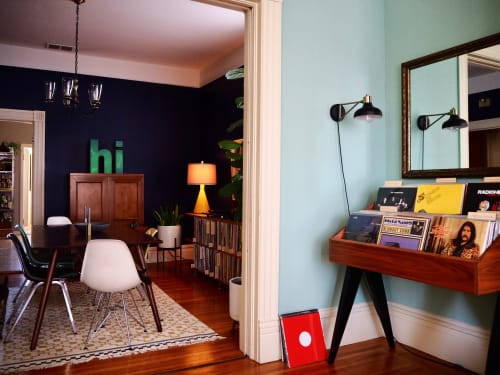 Furniture by Koeppel Design seen at Mission District, San Francisco, San Francisco - Record collection, Private residence