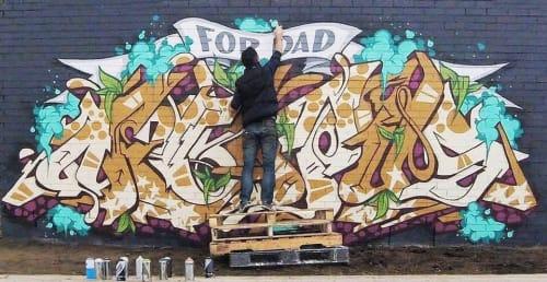 Epick One - Street Murals and Murals