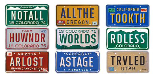 Art & Wall Decor by John Boak seen at Hyatt Place Denver Airport, Aurora - Virtual Vanity Plates