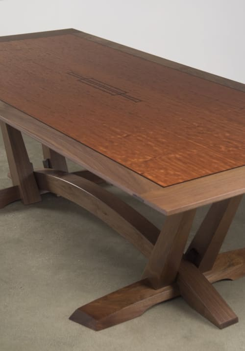 Wise Dining Table   Tables by Eben Blaney Furniture
