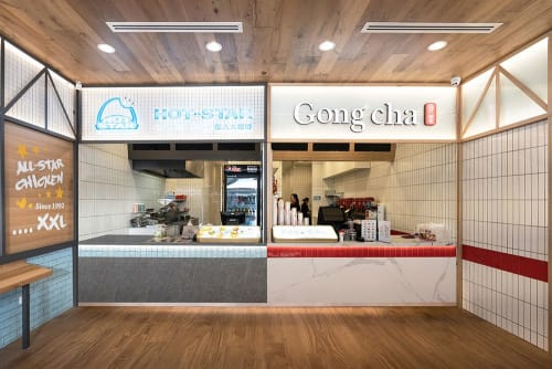 Interior Design by Studio Hiyaku seen at Gong Cha Parramatta, Parramatta - Gongcha + Hotstar Parramatta