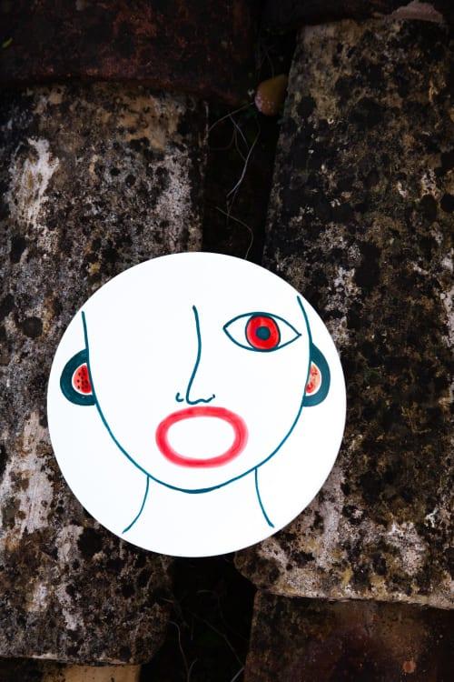 Ceramic Plates by Patrizia Italiano - Riccardo soup plate decor