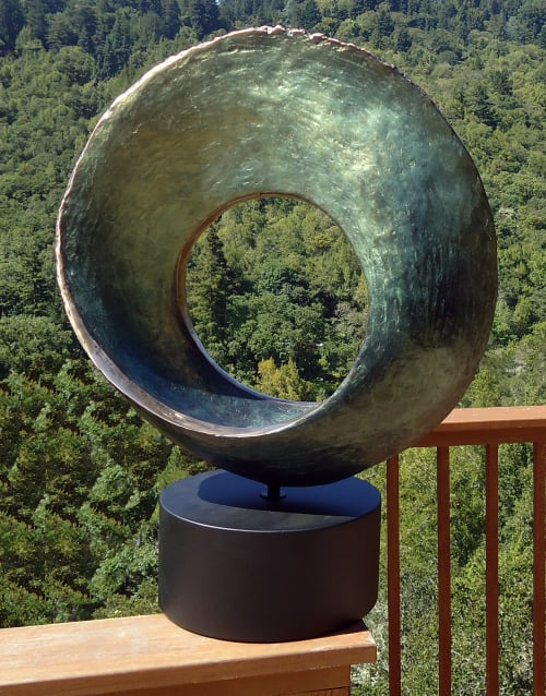 Sculptures by Monika Steiner Fine Art at Private Residence, San Francisco - Large Infinity