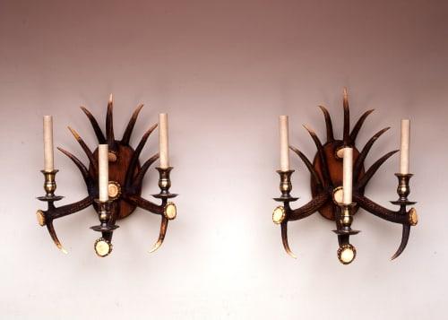 Furniture by David Moura Designs seen at 9-17 Park Royal Rd, London - Bespoke Antler Furniture