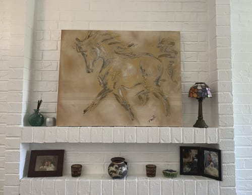Paintings by Donna B Fine Art, Donna Bernstein, Artist seen at Private Residence - Fancy That